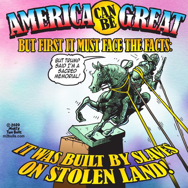 M2Bulls Comic Strip for July 09, 2020