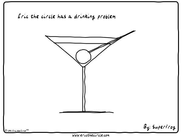 Eric the Circle for Feb 26, 2013 Comic Strip
