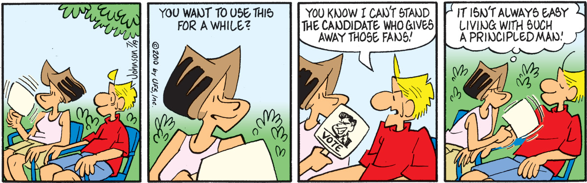 Arlo and Janis for Jul 19, 2010 Comic Strip