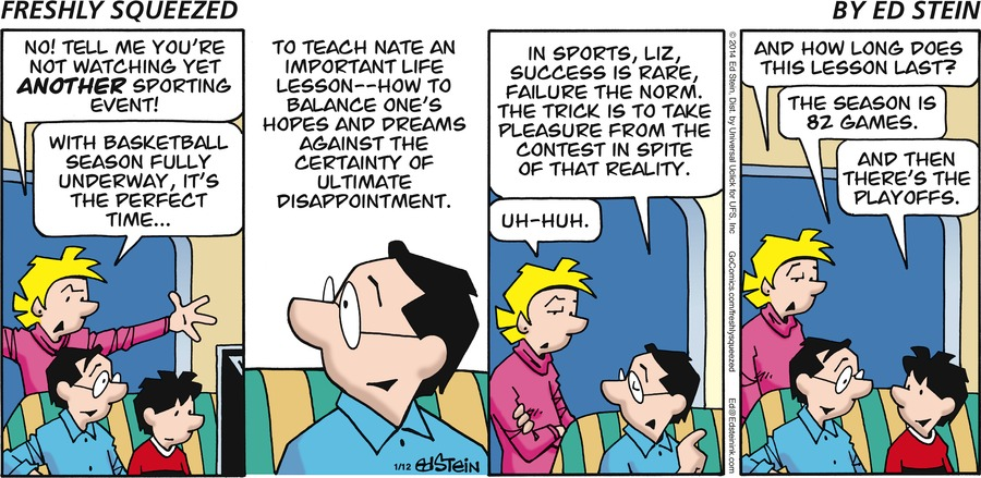 Freshly Squeezed Comic Strip for January 24, 2021