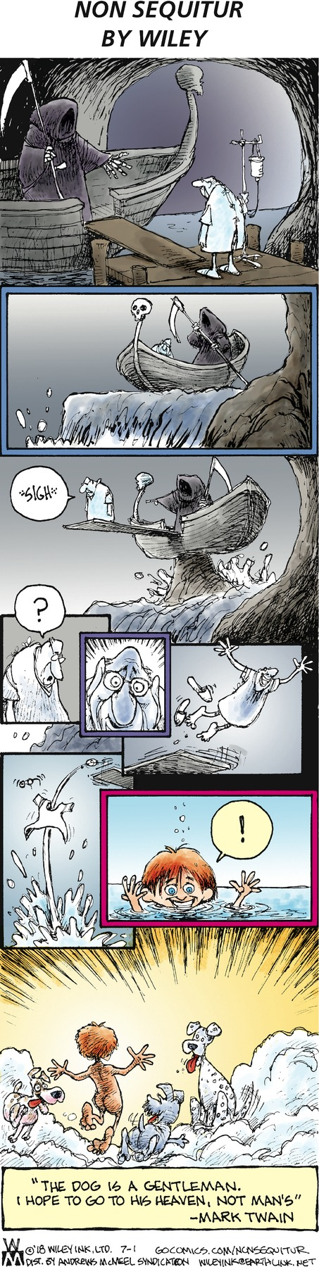Non Sequitur Comic Strip for July 01, 2018