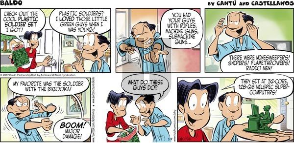 Baldo - Sunday May 7, 2017 Comic Strip