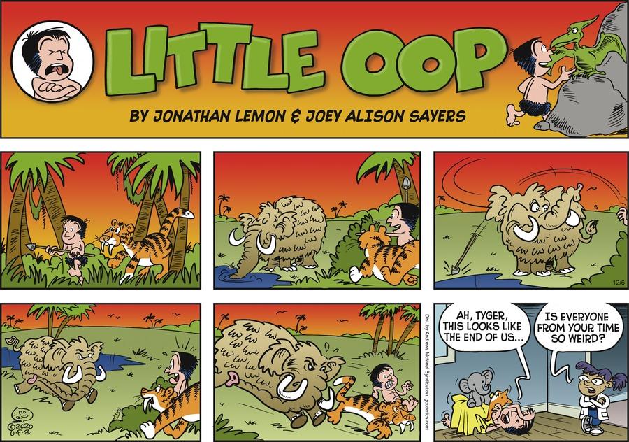 Alley Oop Comic Strip for December 06, 2020