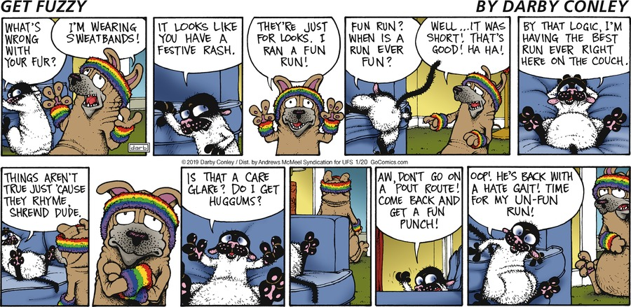 Get Fuzzy Comic Strip for January 20, 2019