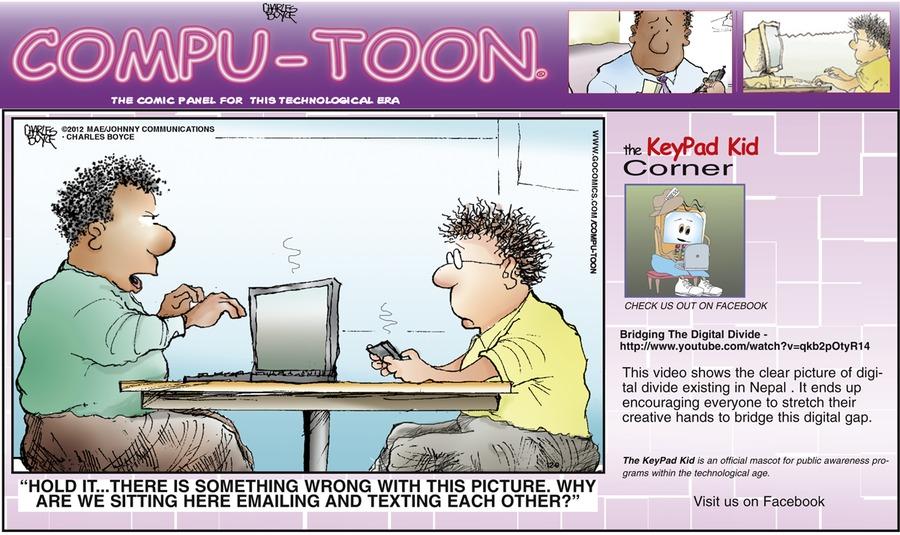 Compu-toon for Dec 9, 2012 Comic Strip