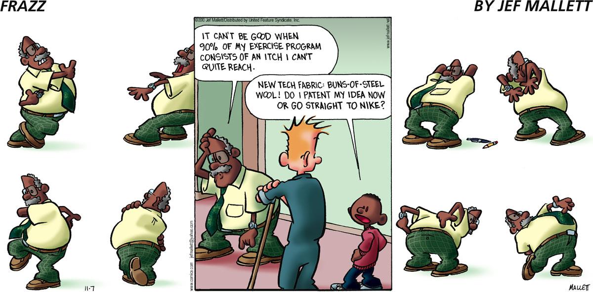 Frazz for Nov 7, 2010 Comic Strip