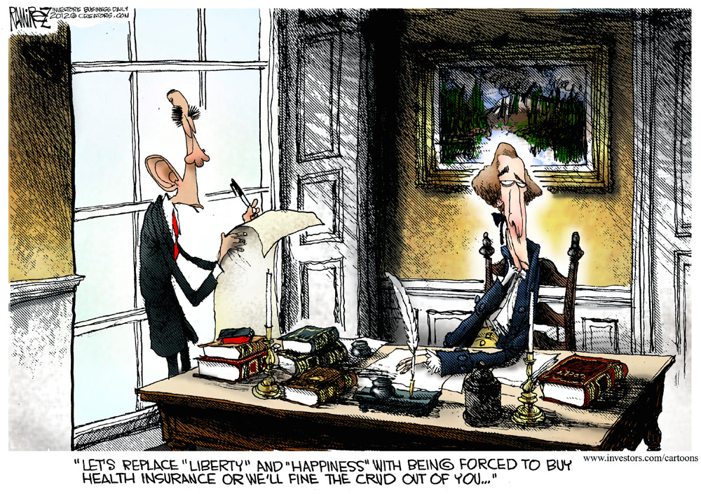 Michael Ramirez Comic Strip for March 27, 2012