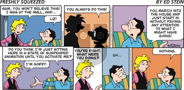 Freshly Squeezed - Sunday May 9, 2021 Comic Strip
