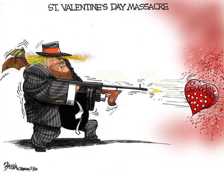 Steve Benson Comic Strip for February 13, 2020