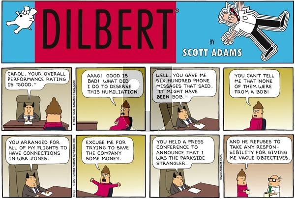 Dilbert - Sunday May 13, 2001 Comic Strip