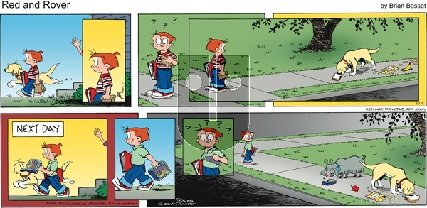 Red and Rover on Sunday May 19, 2019 Comic Strip