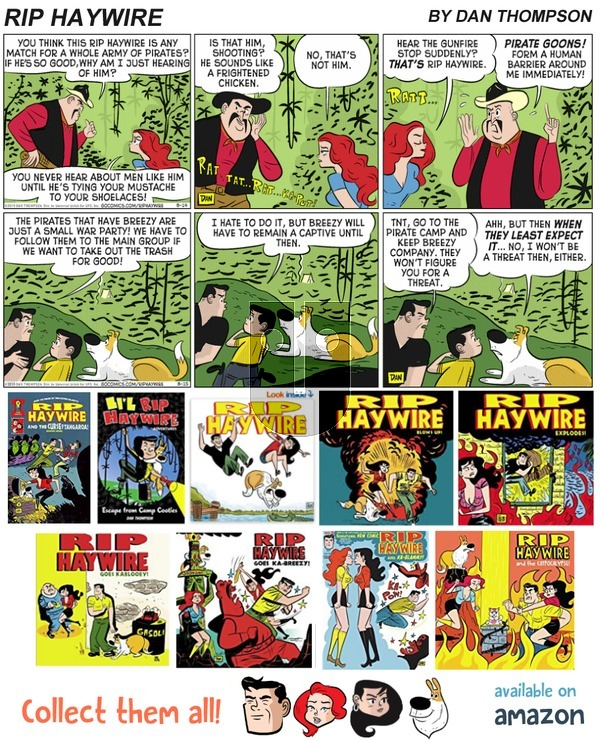 Rip Haywire on Sunday February 11, 2018 Comic Strip