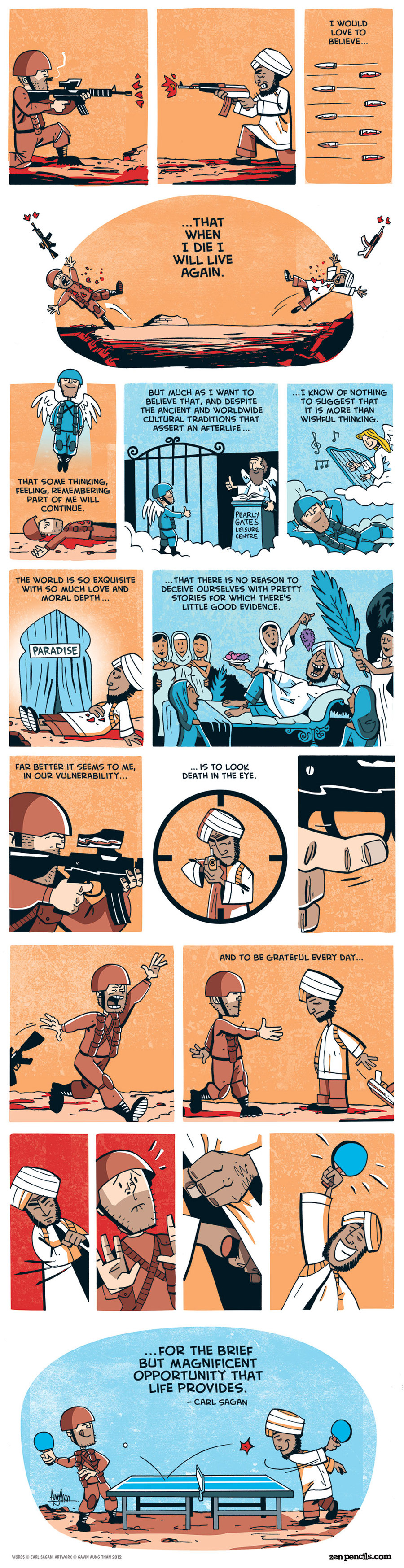 Zen Pencils Comic Strip for December 29, 2014