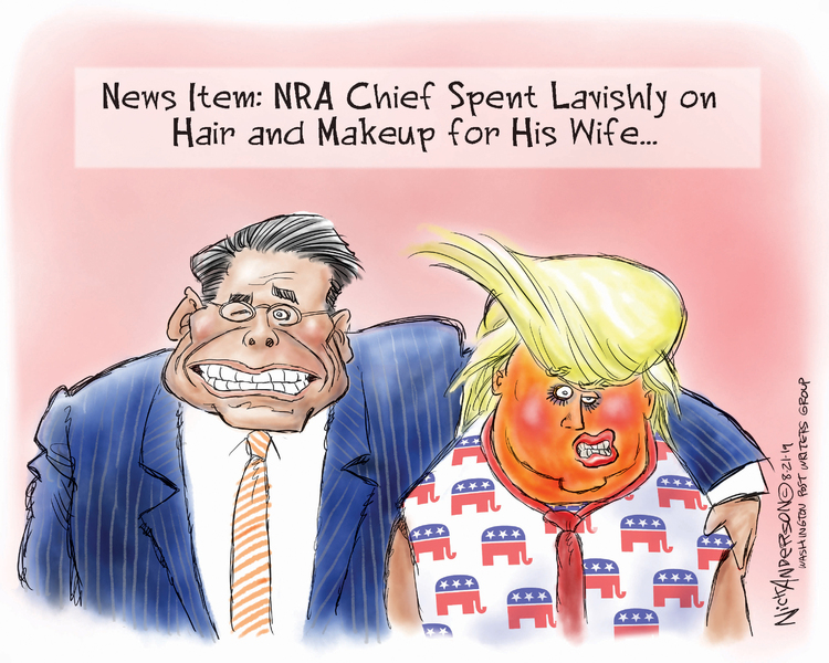Nick Anderson by Nick Anderson for August 21, 2019