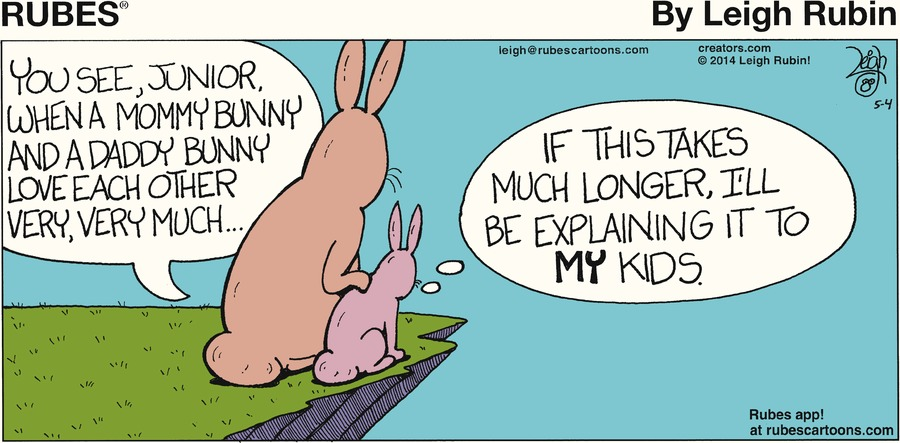 Rubes for May 4, 2014 Comic Strip
