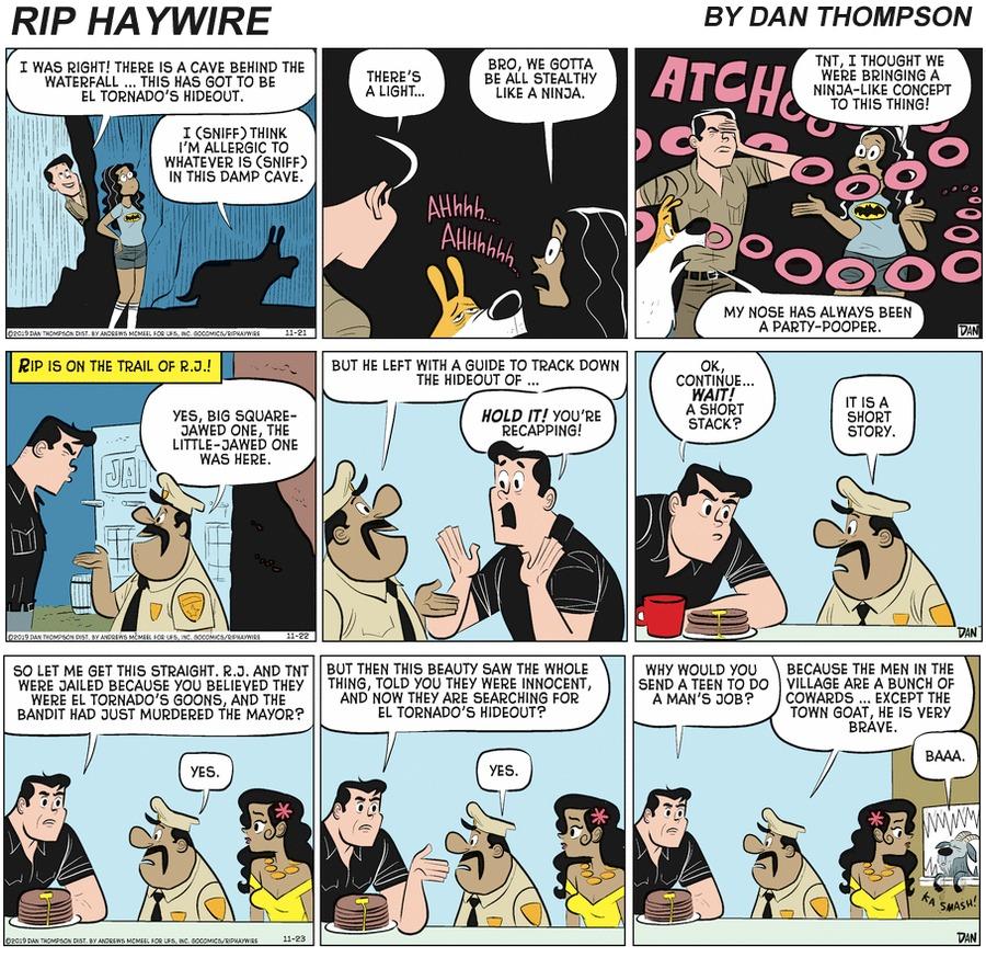 Rip Haywire by Dan Thompson on Sun, 25 Apr 2021