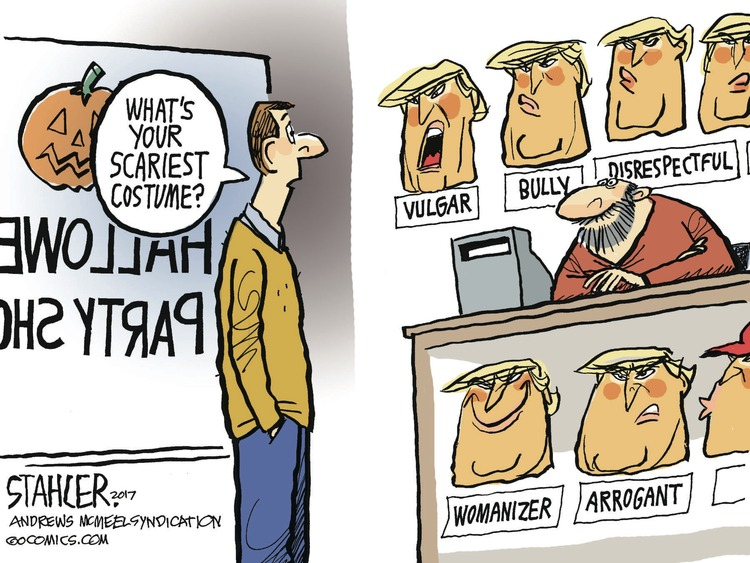Jeff Stahler Comic Strip for October 08, 2017