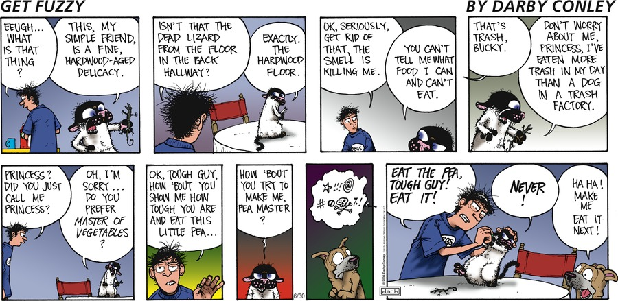 Get Fuzzy Comic Strip for June 30, 2019