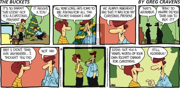 The Buckets on Sunday December 20, 2020 Comic Strip