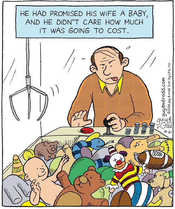 Brevity Comic Strip for October 21, 2006