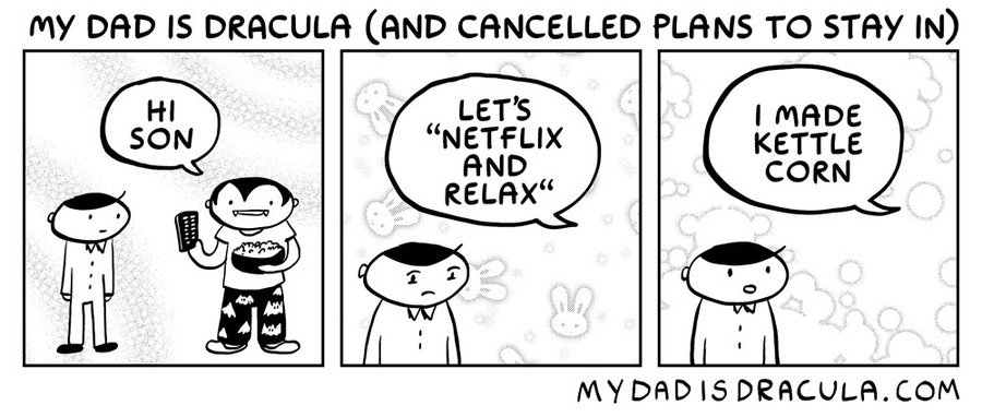 My Dad is Dracula Comic Strip for July 11, 2020