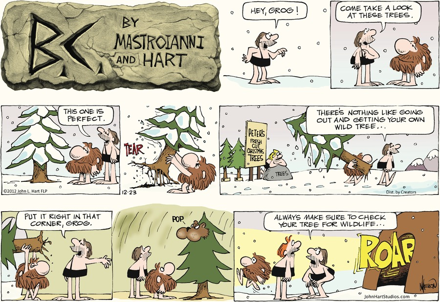 B.C. for Dec 23, 2012 Comic Strip