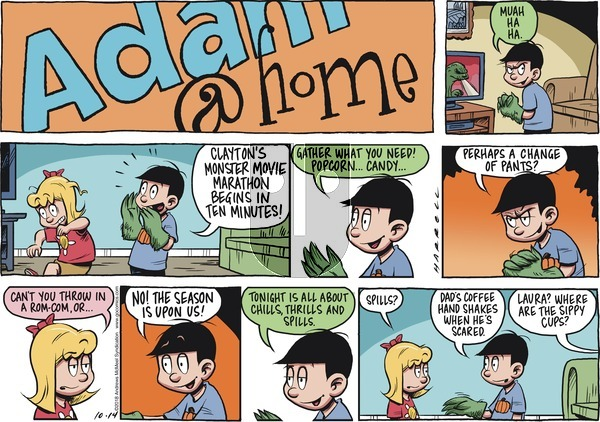 Adam@Home on October 14, 2018 Comic Strip