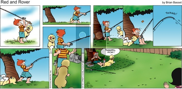 Red and Rover on Sunday July 11, 2021 Comic Strip