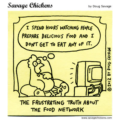 Savage Chickens Comic Strip for April 20, 2016