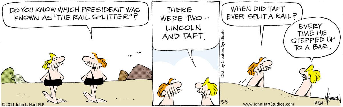B.C. for May 5, 2011 Comic Strip