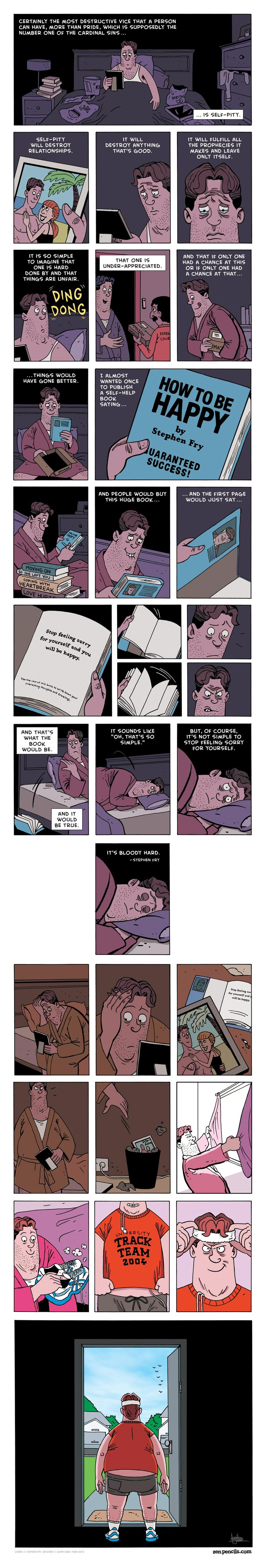 Zen Pencils Comic Strip for January 20, 2014
