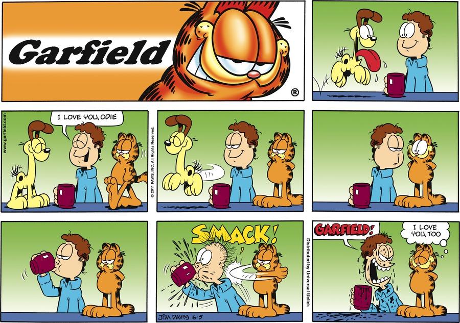 Garfield Comic Strip for June 05, 2011