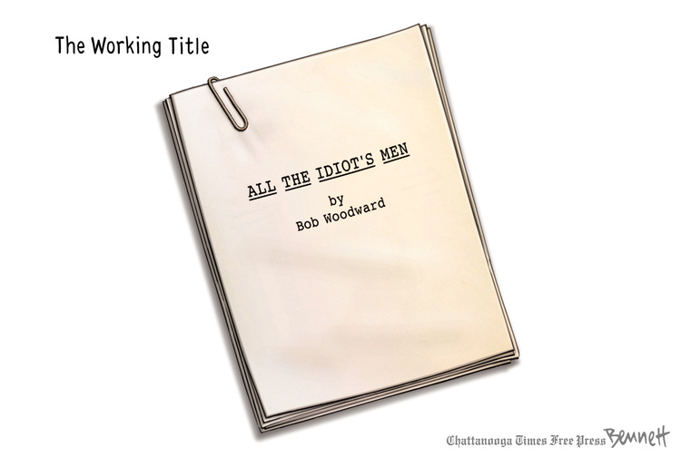 Clay Bennett Comic Strip for September 05, 2018