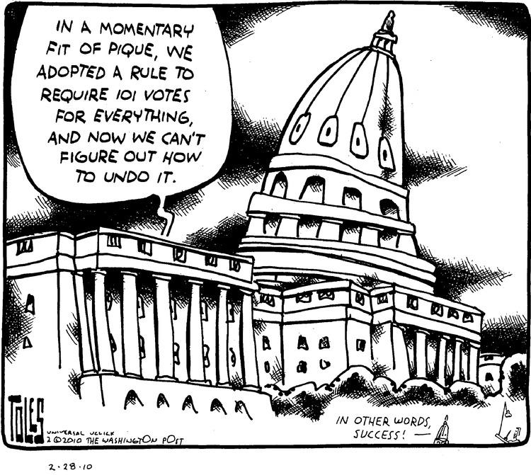 Tom Toles Comic Strip for February 28, 2010
