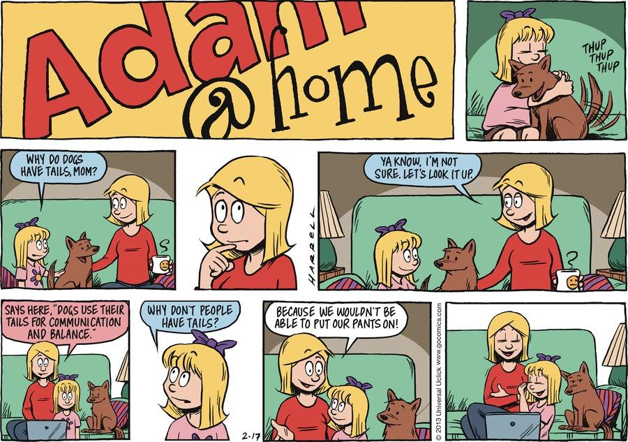 Adam@Home for Feb 17, 2013 Comic Strip