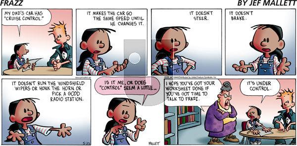 Frazz on Sunday May 23, 2010 Comic Strip