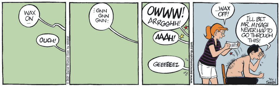 Ben Comic Strip for July 15, 2021
