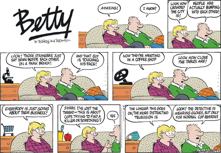 Betty Comic Strip for June 07, 2020