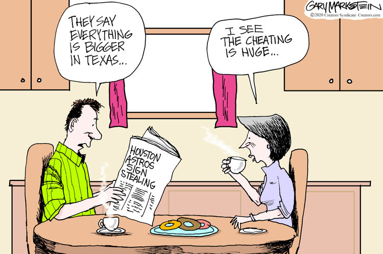 Gary Markstein Comic Strip for January 15, 2020