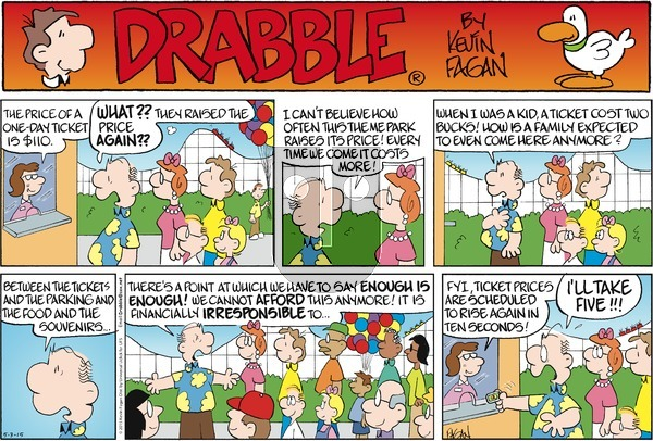 Drabble on Sunday May 3, 2015 Comic Strip