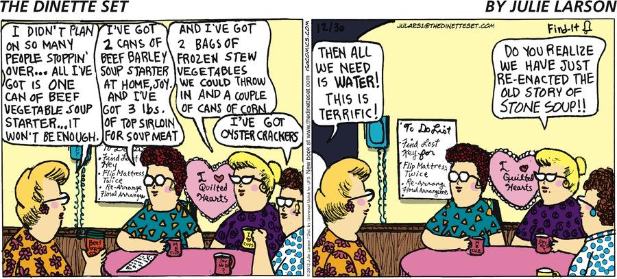 The Dinette Set for Dec 30, 2012 Comic Strip