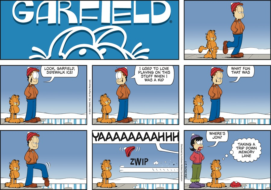 Garfield by Jim Davis on Sun, 07 Feb 2021
