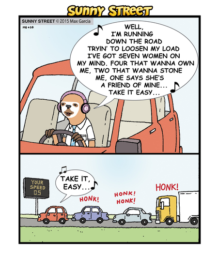 Sunny Street Comic Strip for May 06, 2015