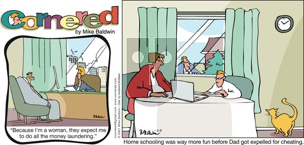 Cornered on Sunday May 9, 2021 Comic Strip