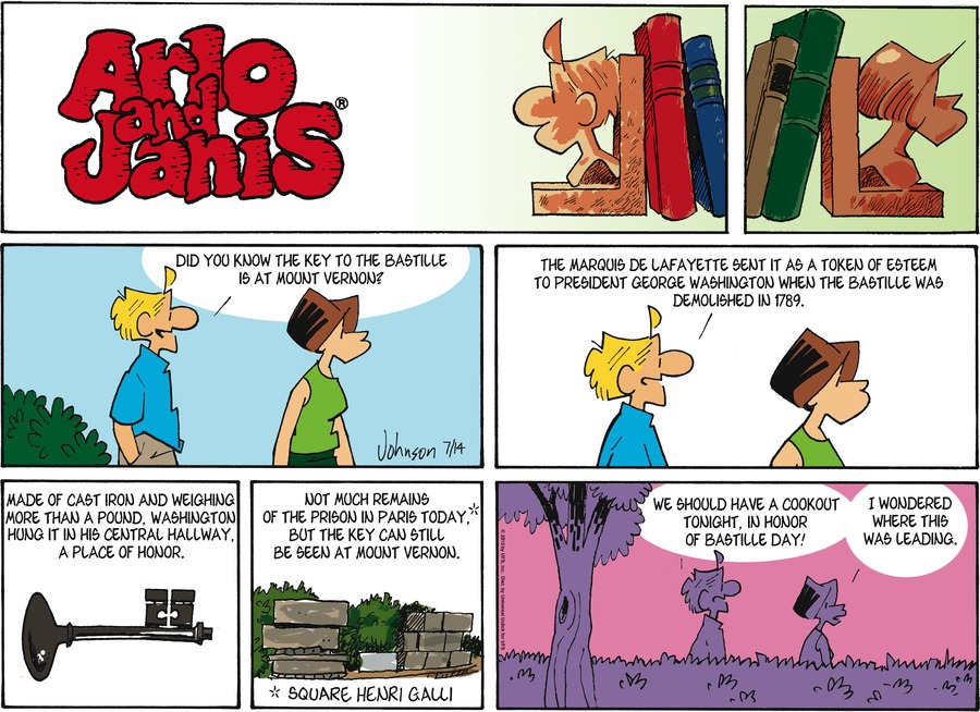 Arlo and Janis Comic Strip for July 14, 2013