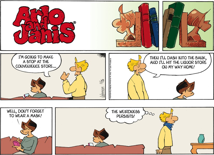 Arlo and Janis Comic Strip for November 15, 2020