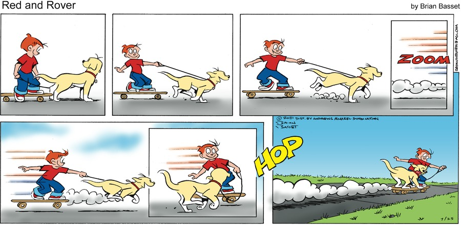 Red and Rover Comic Strip for July 25, 2021