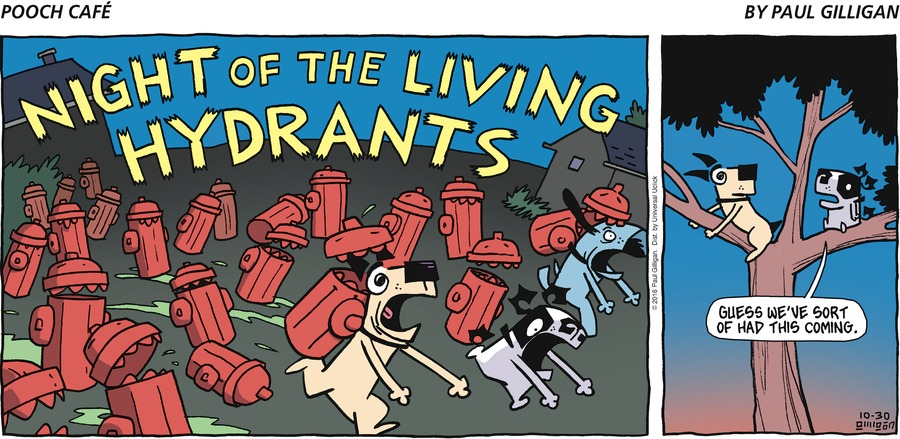 Pooch Cafe for Oct 30, 2016 Comic Strip
