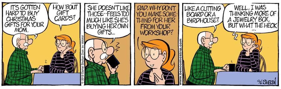 Ben for Dec 13, 2013 Comic Strip