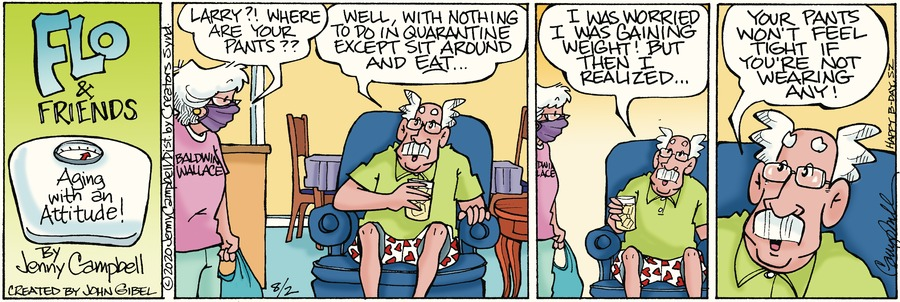 Flo and Friends Comic Strip for August 02, 2020